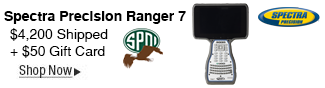 Spectra Precision Ranger 7 Gift Card Deal